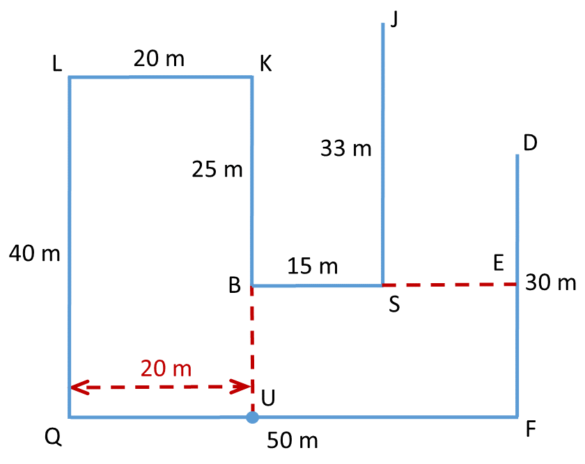 Practice Exercise 1 - Question 4 Direction Diagram