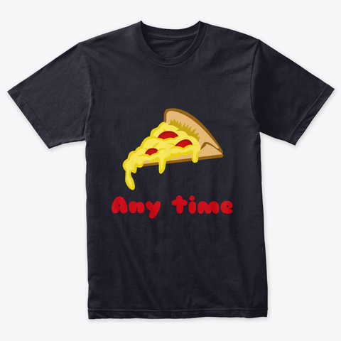 Any Time Pizza Triblend Tee Image 1