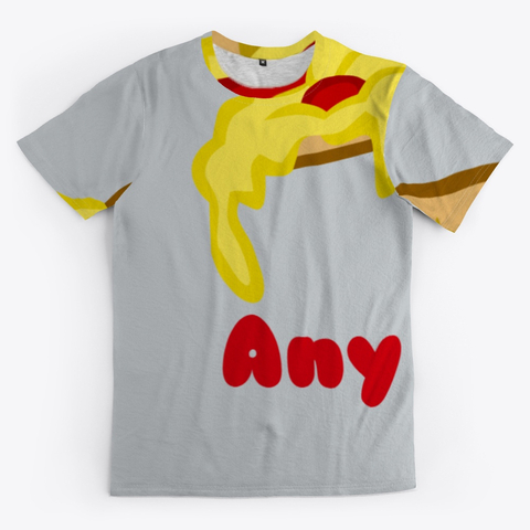 Pizza Any Time All Over Print Unisex Tee Image 1_Front