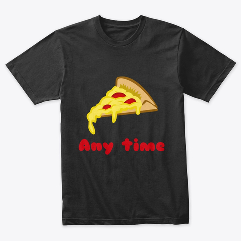 Any Time Pizza Triblend Tee Image 2