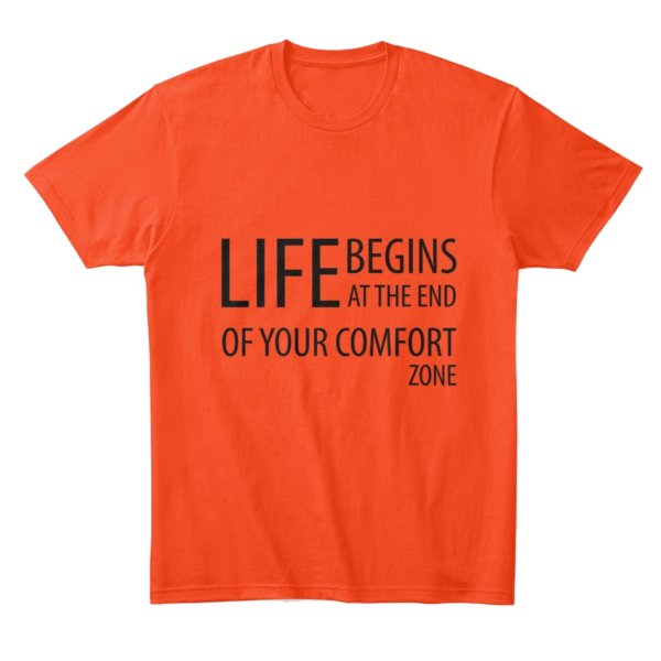 Life begins at the end of your comfort zone - Comfort tee Image 2